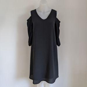 REITMANS ✨NWT✨ Cold Shoulder Dress, Black, XS